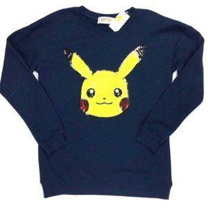 Pokemon Pikachu Sequined Sweatshirt